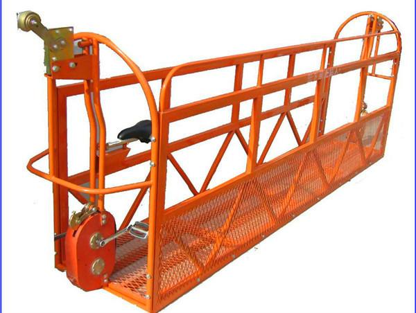 1000 kg 7.5 m x 3 Sections Aluminum Alloy Suspended Working Platform ZLP1000