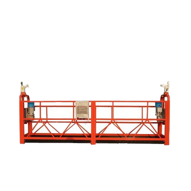 Customized Aluminum Alloy Suspended Working Platform ZLP800 For Building Decoration