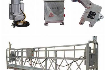 durable suspended work platform , l shaped platform for painting high ceilings