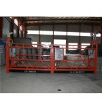 zlp1000 8 – 10 m / min safe suspended woking platform for building construction and maintenance