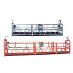 safe suspended access equipment zlp630 with steel wire 8.3 mm for cleaning