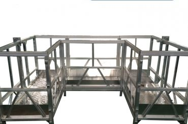 high strength suspended working platform with u tape