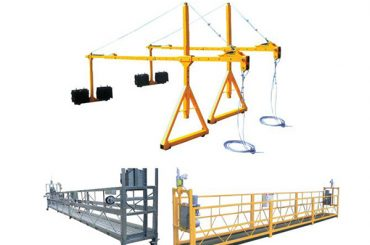 hot sale success suspended steel pained access platform zlp630, zlp800, zlp1000