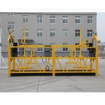temporarily installed suspended access equipment / gondola / cradle / scaffolding zlp500