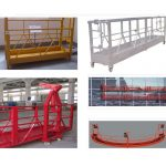 800 kg painted / hot galvanized / aluminium alloy suspended access equipment zlp800