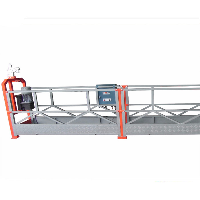Pin - Type 800kg Suspended Work Platform With 1.8kw Motor Power