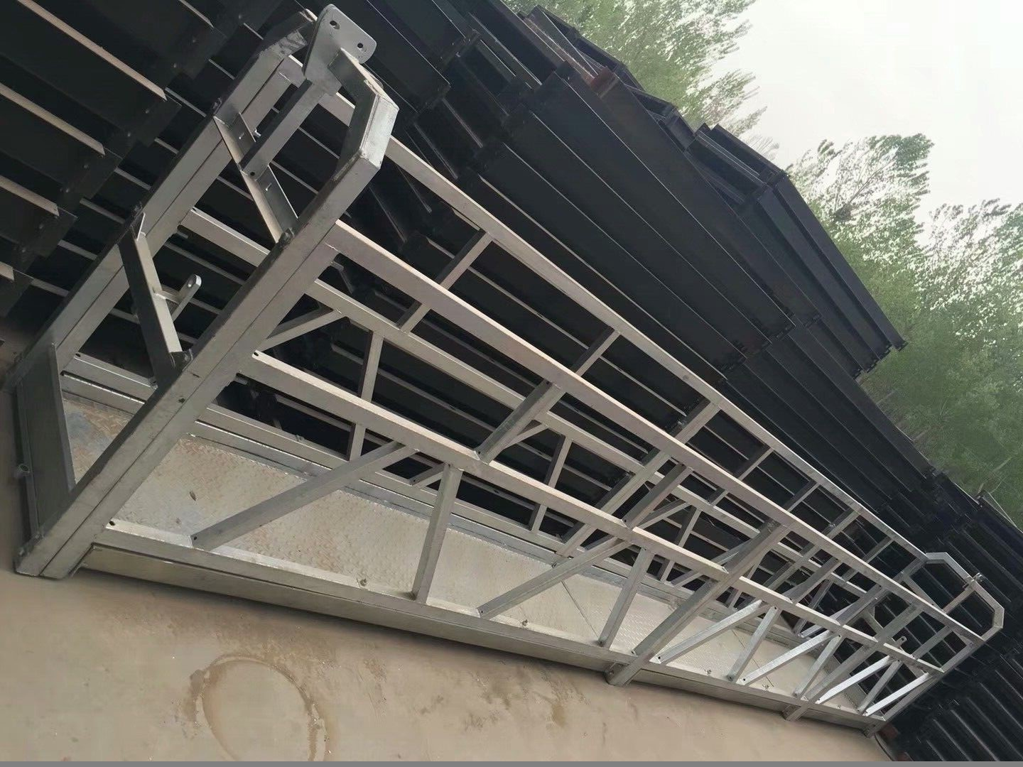 Movable Pin - Type Electrical Suspended Access Platforms ZLP800 Single Phase