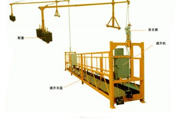 factory sale good quality electric hoist for suspended platform from direct manufacturer