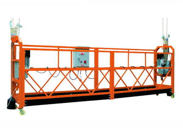 2.5M x 3 Sections 1000kg Suspended Access Platform Lifting Speed 8-10 m/min