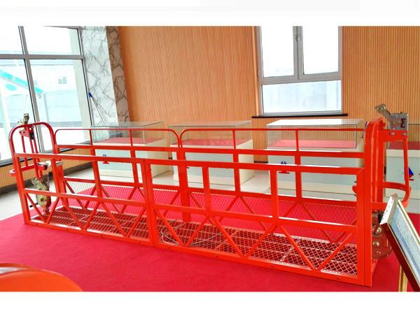 Steel Suspended Access Platforms 7.5m 1.8kw 800kg Building Maintenance