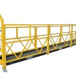 customized zlp1000 suspended access platforms maintenance cradle with steel rope 8.6mm