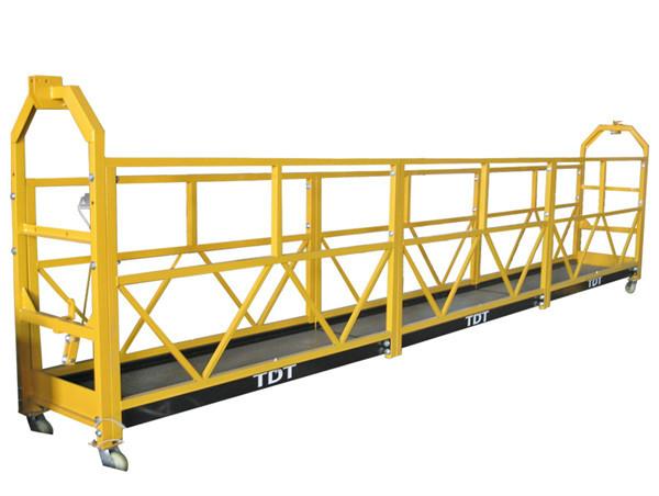 Steel Hot Galvanized Aluminium Alloy Rope Suspended Platform 1.5KW 380V 50HZ