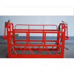 800kg painted / aluminum suspended access platforms motor power 1.8kw scaffold platform