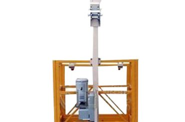 250kg single man suspended working platform l strirrup with ltd6.3 hoist