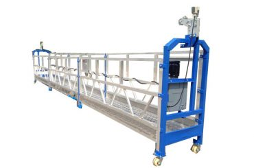 500 kg 2 m * 2 sections aluminium alloy suspended access equipment zlp500