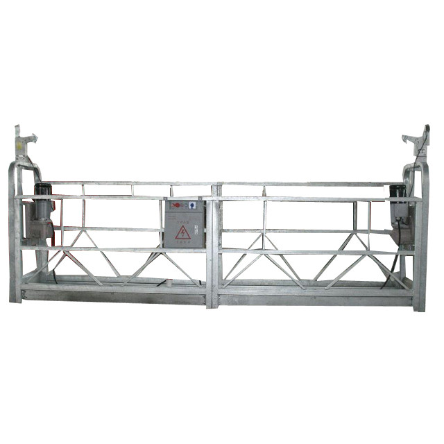 hot galvanized suspended working platform zlp630 for high rise ...