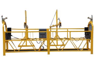 economic single person pedal suspended working platform