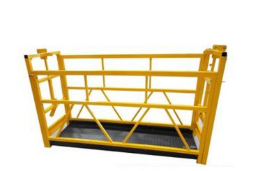 aluminum suspended access platforms maintenance cradle zlp800 7.5m 800kg 1.8kw